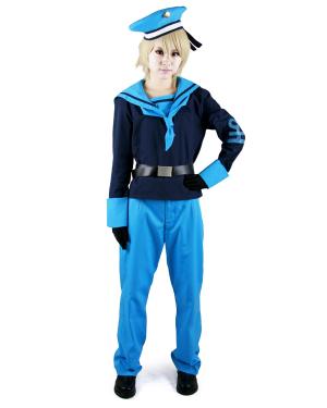 Hetalia Axis Powers Norway Cosplay Costume