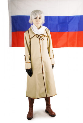 Hetalia Axis Powers Russia Cosplay Costume