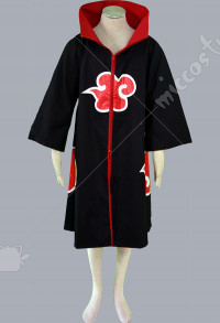 Naruto Uchiha Madara Cape Cosplay Costume