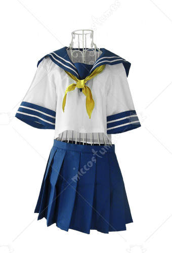 Battle Vixens Kanu Unchou Cosplay Costume
