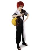 Naruto Shippuuden Black Gaara Cosplay Costume