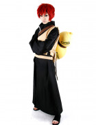 Naruto Gaara Black Cosplay Costume