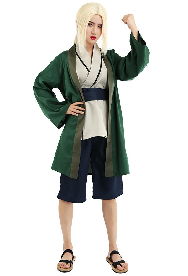 Naruto Green Tsunade Cosplay Kostüme