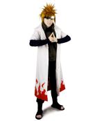 Naruto Yondaime 4th Hokage Minato Namikaze Cosplay Costume