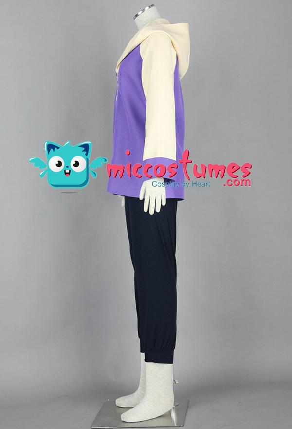 Lila Naruto Hinata Cosplay Kostüme