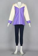 Purple Naruto Hinata Cosplay Costume