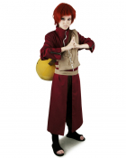 Red Naruto Gaara Cosplay Costume