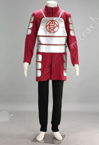Red Naruto Choji Akimichi Cosplay Costume