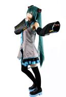 Vocaloid Hatsune Miku Cosplay Kostüme