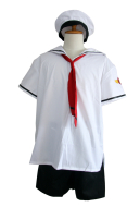 Card Captor Sakura Boy Summer Uniform  Men XL
