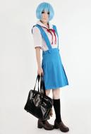 Neon Genesis Evangelion Rei Ayanami and Asuka Langley Senior School Uniform