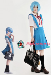 Neon Genesis Evangelion Rei Ayanami and Asuka Langley Senior School Uniform