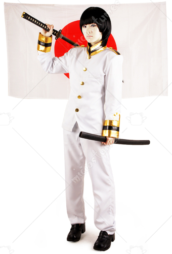 Axis Powers Hetalia Japan Cosplay Costume