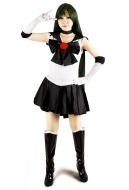 Sailor Moon Meiou Setsuna Sailor Pluto Cosplay Costume