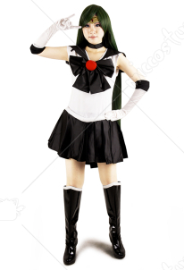 Sailor Moon Meiou Setsuna Sailor Pluto Cosplay Costume