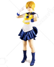 Sailor Moon Tenoh Haruka Sailor Uranus Cosplay Costume