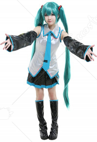 Disfraz Cosplay de  Miku Leather
