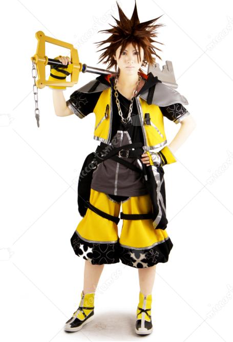 Sora Nightmare Before Christmas Costume.Kingdom Hearts Iii Sora Cosplay Costume