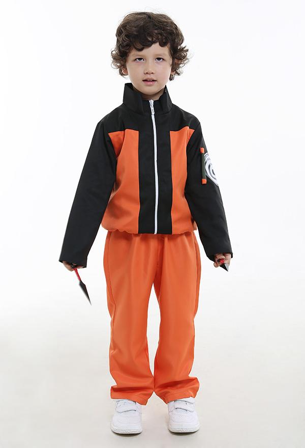 Naruto Uzumaki Kinder Cosplay Kostüme