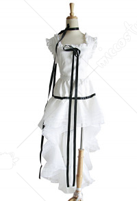 Chobits chii white cosplay costume