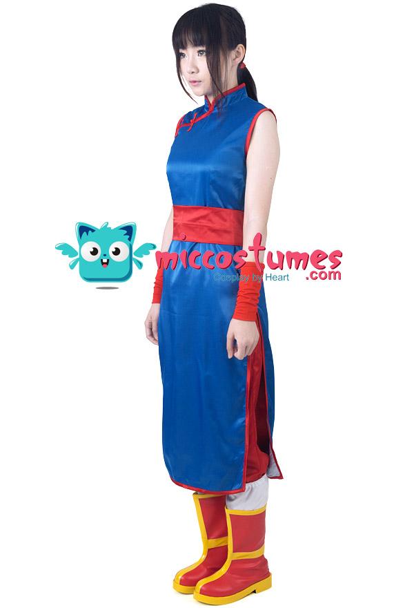 Dragon Ball Chi Chi Cosplay Kostüme