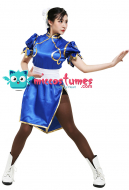[Free US Economy Shipping] Street Fighter Chun Li Cosplay Costume
