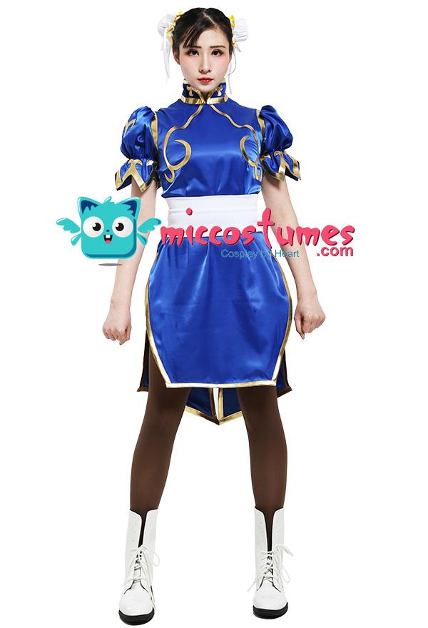 Street Fighter Chun Li Cosplay Kostüme