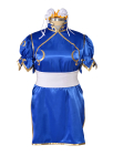 Plus Size Street Fighter Chun Li Cosplay Costume