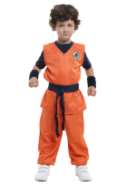 Dragon Ball Son Goku Kids Cosplay Costume