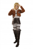 Attack on Titan Annie Leonhart Cosplay Costume