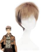 Attack on Titan Jean Kirschstein Cosplay Wig
