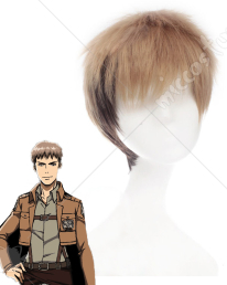 Attack on Titan Jean Kirschstein Cosplay Perruque
