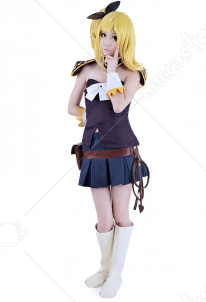 Fairy Tail Lucy Heartfilia Purple Cosplay Costume