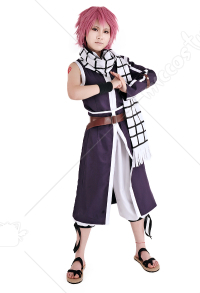 Fairy Tail Natsu Dragneel Cosplay Costume Violet