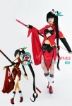 Blazblue Litchi Faye Ling Cosplay Costume