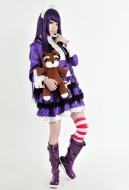 Liga von Legende Dunkler Kind Annie Lila Kostüme