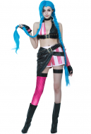 League of Legends Loose Cannon Jinx Cosplay Costume