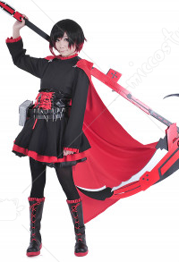 RWBY Ruby Rose Cosplay Kostüme