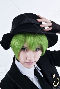 Blazblue Hazama Cosplay Perruque