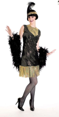 20s Art Deco Flapper Costume