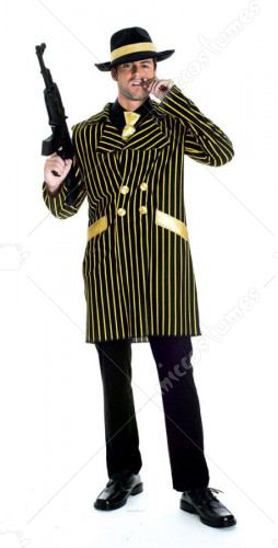 20S Gangster Mens Adult Costume