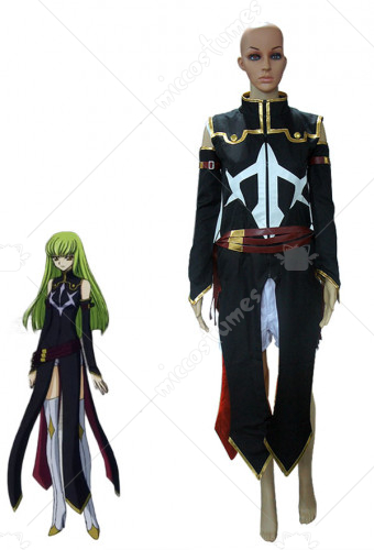 Code Geass C C Cosplay Costume