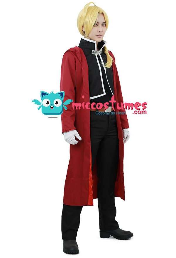 Fullmetal Alchemist Edward Elric Cosplay Kostüm