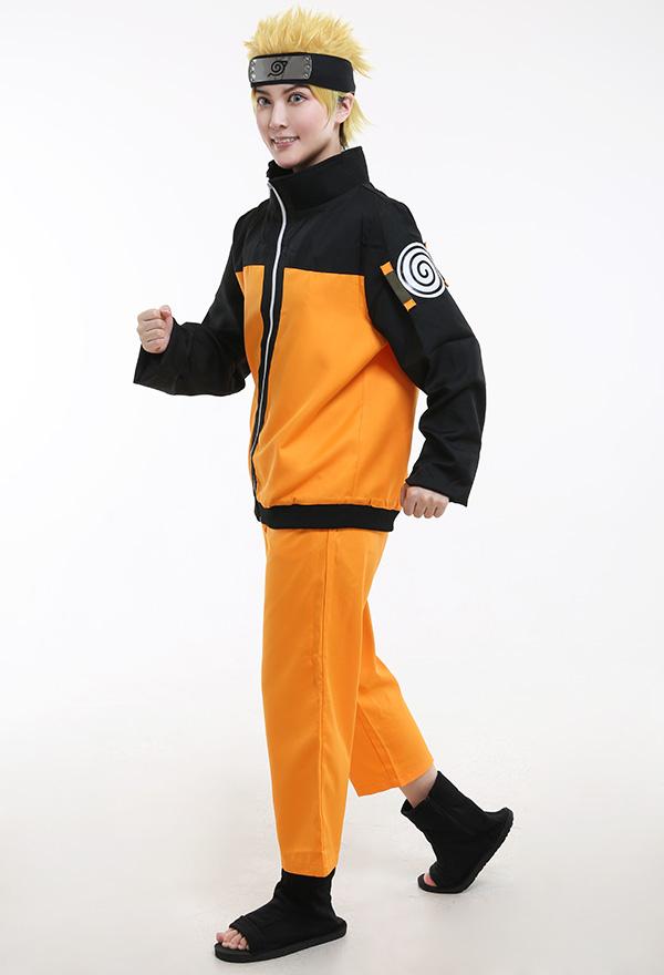 Naruto Uzumaki Cosplay Kostüme