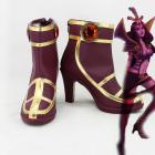 League of Legends Deceiver LeBlanc Cosplay Shoes