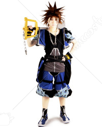 Kingdom Hearts II Sora Cosplay Costume