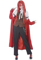 Black Butler Grell Sutcliff Unisex Cosplay Costume