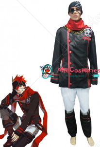 D Gray Man Lavi Cosplay Costume