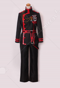 D Gray Man Allen Walker Cosplay Costume
