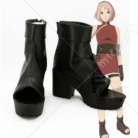 Naruto THE LAST Sakura Haruno Cosplay Shoes